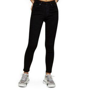 Topshop MOTO Jamie Jeans in Black